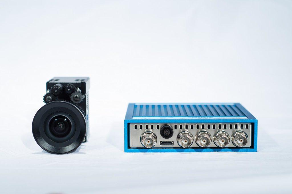 K1600_HD1200 5mm Lens und CCU Front